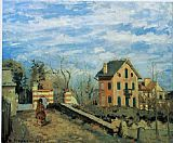 Village Canvas Paintings - Village de Voisins 1872
